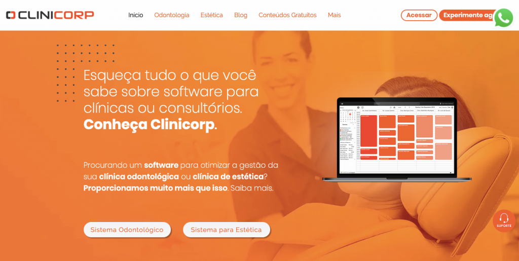 Clinicorp software para dentistas