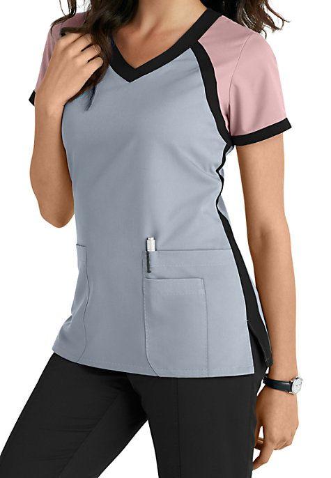 uniforme para secretaria multicolorido