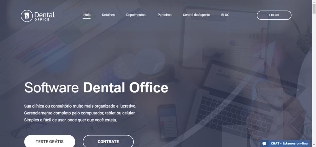 programa de gestão para dentistas dental office