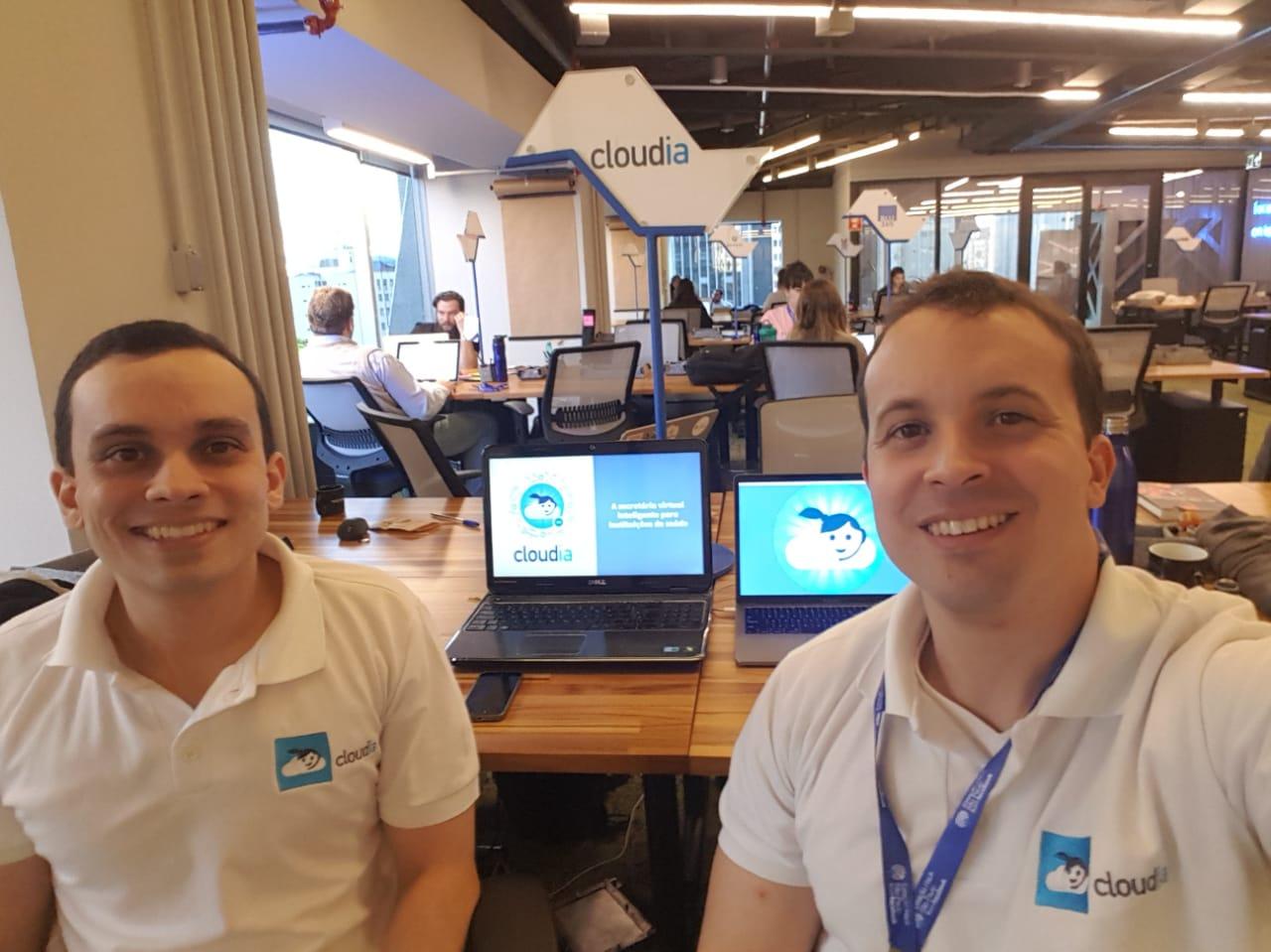 Estação Hack (centro de inovação do Facebook)- Escritório Cloudia