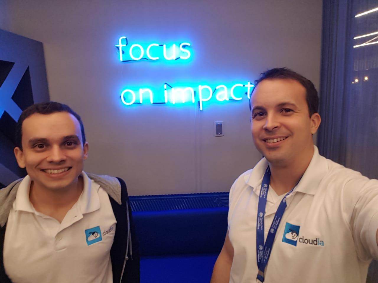 Focus on impact - Estação Hack (Facebook e Artemísia)- Escritório Cloudia